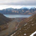 Longyearbyen frå Sarkofagen