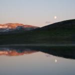 Sommarkveld på Hardangervidda