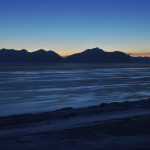 Isfjorden ved midnatt