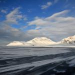 Is på Isfjorden