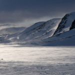 Sol og snøfokk i Helveteshorga