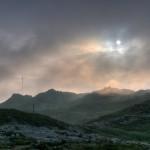 Låge skyer på Vidden