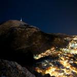 Vinternatt i Bergen