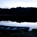 Kveld ved vatnet